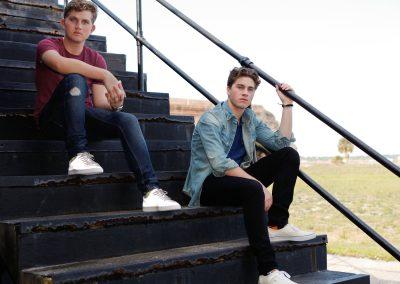 Nick and Matt Hall 2016