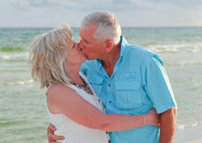 Couple's Beach Portrait