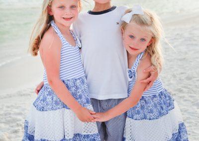 Sibling Portrait Santa Rosa Beach